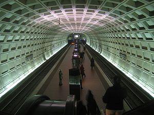 U Street station - Image: U St African Amer Civil War Memorial Cardozo Station