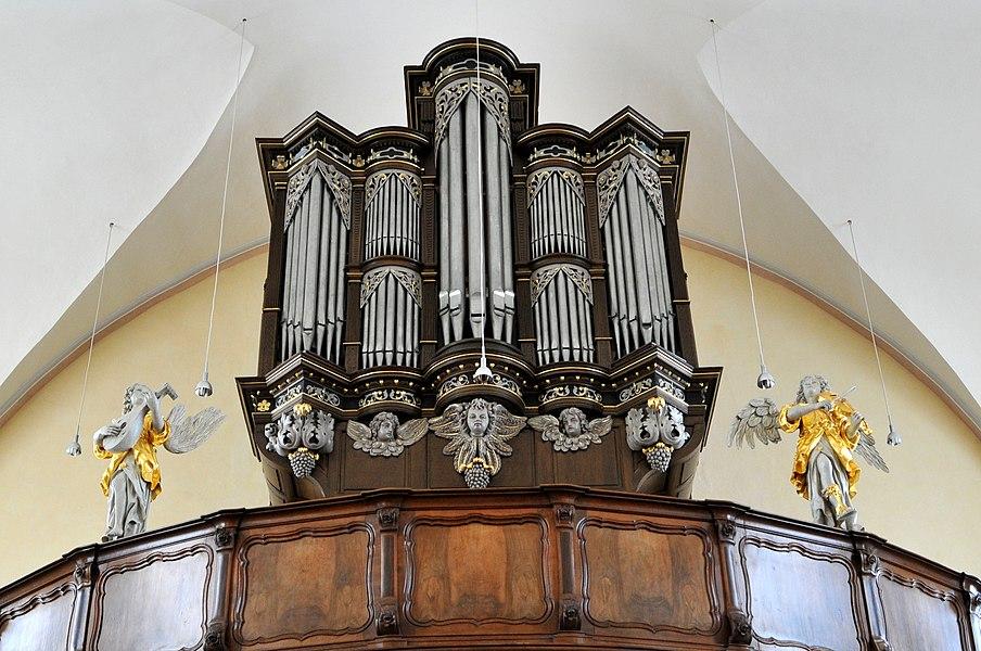 D'Uergel an der Kierch zu Jonglënster.