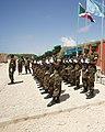 Ugandan AMISOM Guard of Honour for Burundi Defence Minister (6243027107).jpg