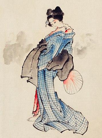File Ukiyo E Woodblock Print By Katsushika Hokusai