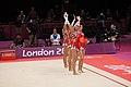 Ukraine Rhythmic gymnastics at the 2012 Summer Olympics (7915608772).jpg