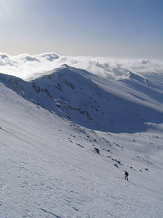 Uludağ - Skiing in the Uludağ range (February 2007 photograph)