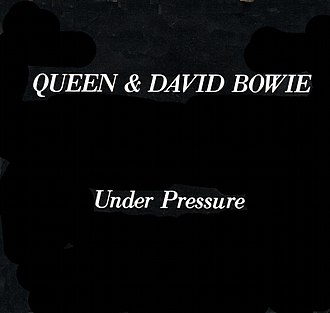 Under Pressure - Image: Under Pressure by Queen and David Bowie Elektra pressing