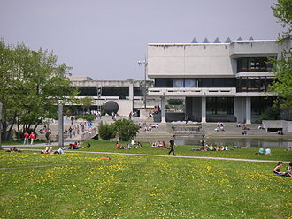 University of Regensburg - Campus and library