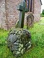 Unusual gravestone at Ballingham - geograph.org.uk - 877974.jpg