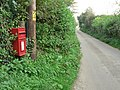 Uploders, postbox No. DT6 97 - geograph.org.uk - 983872.jpg