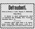 Upozornění nakladatele v Humoristických listech, 1902, č. 46, s. 6.jpg