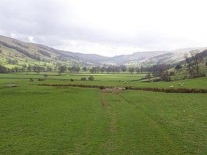 Bishopdale, North Yorkshire - Image: Upper Bishopdale