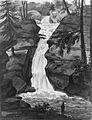 Upper Falls of Solomon's Creek (after an Engraving in The Port Folio Magazine, December 1809) MET ap42.95.42.jpg