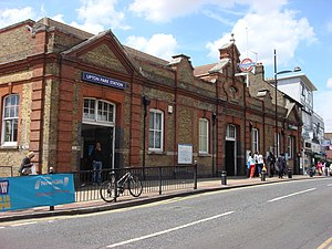 Upton Park tube station - Main entrance on Green Street