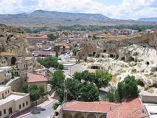 Ürgüp District in Central Anatolia, Turkey