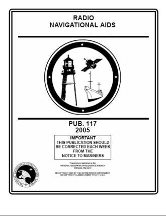 Radio Navigational Aids - Image: Us gov publication 117 radio navigation aids