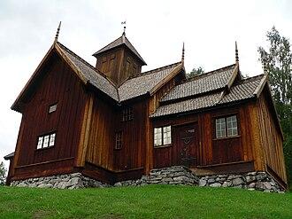 Uvdal Stave Church - Image: Uvdal stavkirke, Uvdal, Norway 20050819