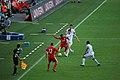 Vålerenga - Liverpool Raheem Sterling vs. Morten Berre (5999767966).jpg