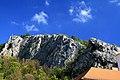 Výšinné opevněné sídliště - hradiště Svatojánská skála, archeologické stopy (Svatý Jan pod Skalou).jpg
