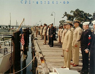 Coast Guard Squadron One - Commissioning ceremony for Coast Guard Squadron One at Base Alameda, 27 May 1965