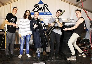 SWR FM - Vacant Shade Performing at the 2016 Live Radio Gig