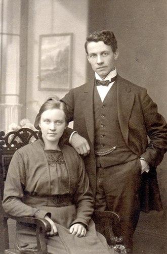 Väinö Kohtanen - Väinö and Kirsti Kohtanen 1920