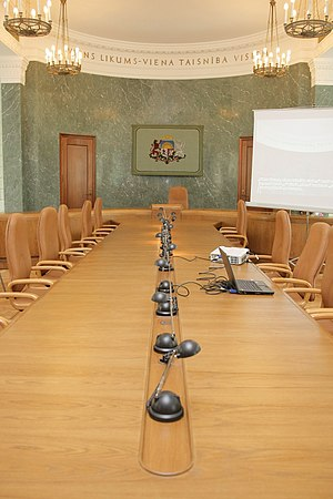 Palace of Justice, Riga - Old Senate chamber