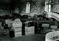 Valtionarkisto 1945. Karkun kirkko evakuoinnin aikana. Kansallisarkisto.jpg