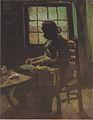 Van Gogh - Bäuerin, nähend, vor einem Fenster.jpeg