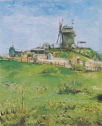 Le Moulin de la Galette (Van Gogh series) - Image: Van Gogh Le Moulin de la Galette 8