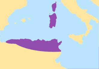 Praetorian prefecture of Africa - Image: Vandales