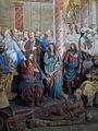 Varallo, Sacra monte, Cappella 15-Healing of the Lame 04.JPG