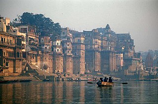 Ganges river in Bangladesh and India with major tributeries from Nepal