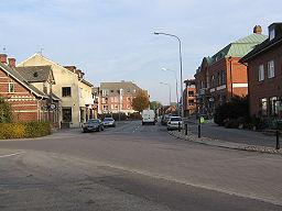 Östergatan i Vellinge.