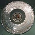 Venezia, piatto da portata con stemma della famiglie Fugger e Turzo, XVI sec.JPG
