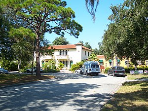 National Register of Historic Places listings in Sarasota County, Florida - Image: Venice FL Armada HD 410 Palmetto 02