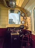 Verkehrsmuseum Dresden E-Lok E 71 30 Lokomotivwerk Hennigsdorf von 1921 Führerstand X.jpg