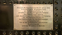 Verkehrsmuseum Dresden Güterzug - Tenderlok Muldenthal II.jpg