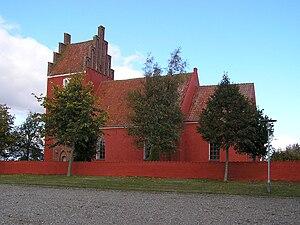 Vester Egesborg Church - Image: Vester Egesborg Kirke, Næstved 2009 10 13