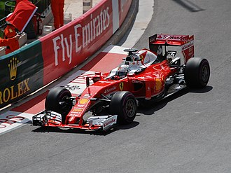 2016 Monaco Grand Prix - Sebastian Vettel was fastest in third practice.