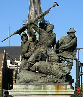 <i>The Victorious Charge</i> artwork by John S. Conway