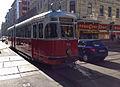 Vienna Historic Tram Kaiserstrasse March 2014 (12933214293).jpg