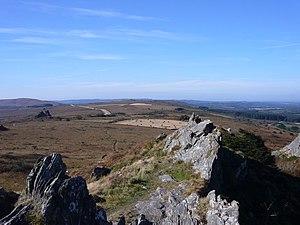 Parc naturel régional d'Armorique - View along Monts d'Arrée, in Parc naturel régional d'Armorique