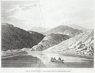 View between Barmouth & Dolgelley