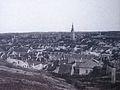 View of Jewish city in Třebíč, photo before 1896.jpg