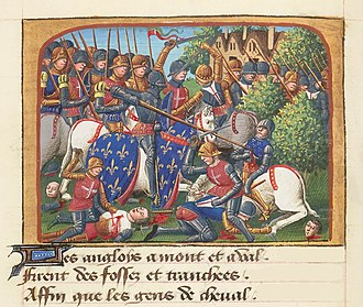 Battle of Formigny - The Battle of Formigny by Martial d'Auvergne