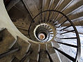 Villa medici, scalinata a chiocciola 03.JPG