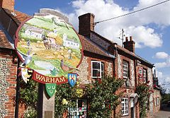 VillageSignWarhamNorthNorfolk(DavidWilliams)Sep2004.jpg