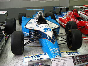 Reynard Motorsport - Jacques Villeneuve's Reynard IndyCar chassis which won the Indianapolis 500.