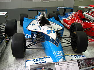 Jacques Villeneuve - Villeneuve's 1995 Indianapolis 500-winning car.
