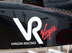 Logo Virgin Racing z 2010 roku