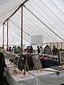 Visitors peruse the crafts and photographic entries - geograph.org.uk - 1471631.jpg