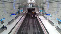 Vista de la estación de metro de Intxaurrondo.jpg