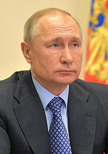 Vladimir Putin President of Russia from 2000 to 2008 and since 2012